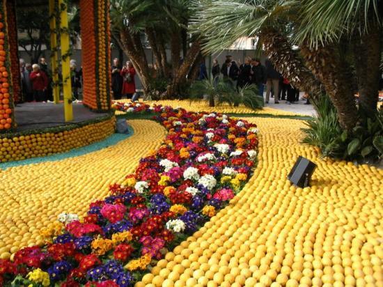 photos J.G.L. FETE du Citron à Menton (fév.2008)