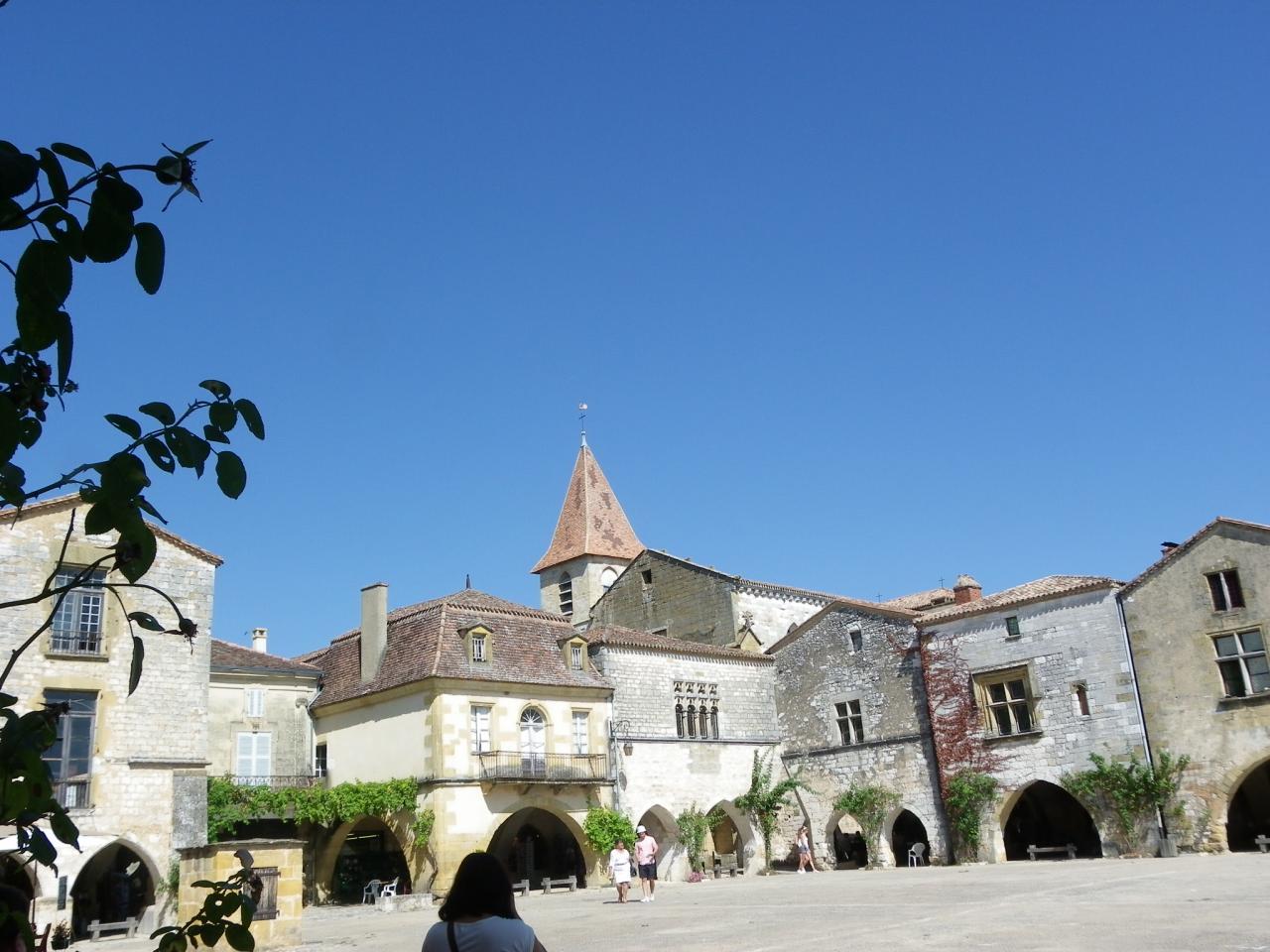 Bastide de DOMME en Dordogne