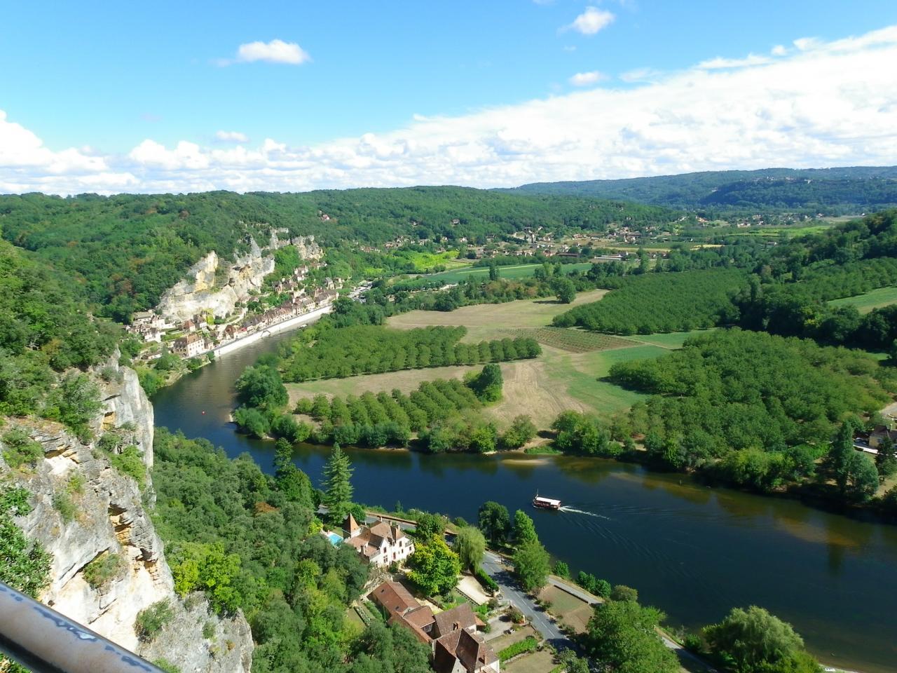 la Dordogne vue des Jardins de Marqueyssac